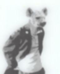 Emile Stoclin alias Emil. Artiste, peintre, plasticien. Pochoir, sérigraphie. Acrylique sur verre. 2014.