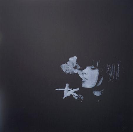 Emile Stoclin alias Emil. Artiste, peintre, plasticien. Pochoir, sérigraphie. Acrylique sur bois. 2012.
