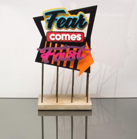 Emile Stoclin alias Emil. Artiste, peintre, plasticien. Pochoir, sérigraphie. Acrylique sur bois, metal. 2016.