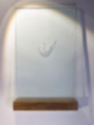 Emile Stoclin alias Emil. Artiste, peintre, plasticien. Pochoir, sérigraphie. Acrylique sur verre. 2016.