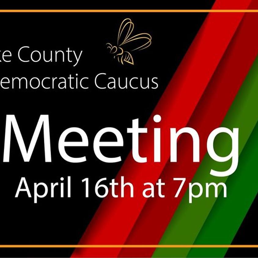 Salt Lake County Black Caucus Convention Meeting