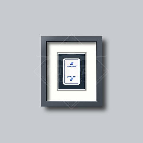 Icelandair - Single Framed Playing Card