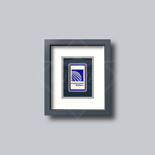 Continental Airlines - Single Framed Playing Card
