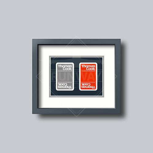 Thomas Cook Airlines - Double Framed Playing Cards