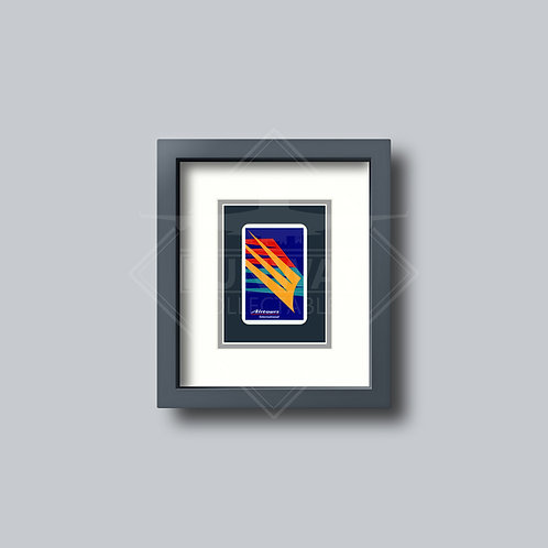 Airtours - Single Framed Playing Card