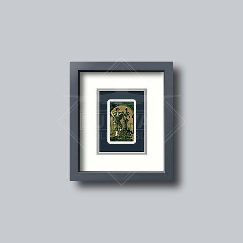 Iberia - Single Framed Playing Card - Design No.1