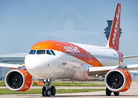 easyJet - Airbus A320 Neo - Print