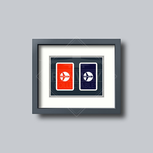 Swissair - Double Framed Playing Cards
