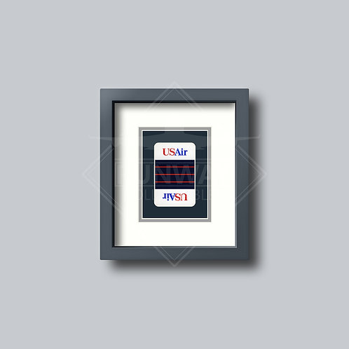 US Airways - Single Framed Playing Card