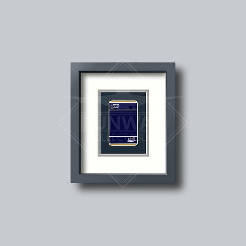 British Caledonian - Single Framed Playing Card - Design No.1