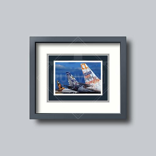 Deutsche BA - Utopia Tails - Framed Postcard