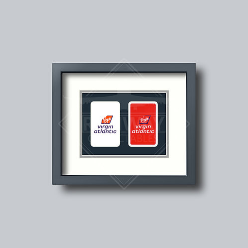 Virgin Atlantic - Double Framed Playing Cards