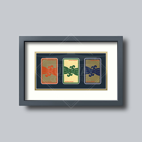 Cathay Pacific - Gold Edition - Triple Framed Playing Cards
