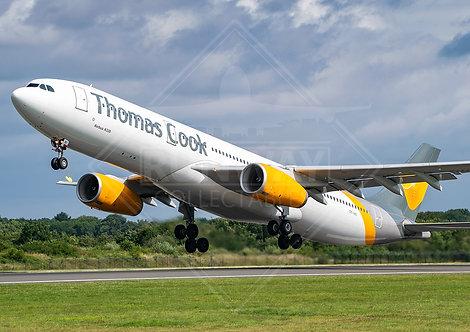 Thomas Cook - Airbus A330 - Print