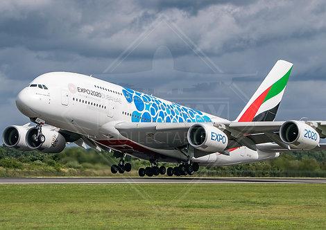 Emirates - Airbus A380 - Print