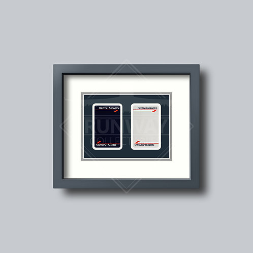 British Airways - Landor - Double Framed Playing Cards