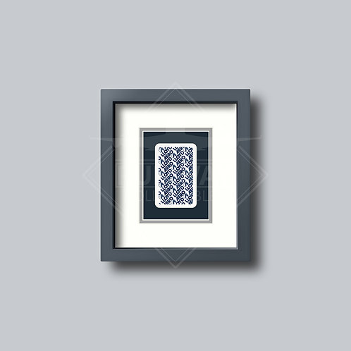 Aero Lloyd - Single Framed Playing Card
