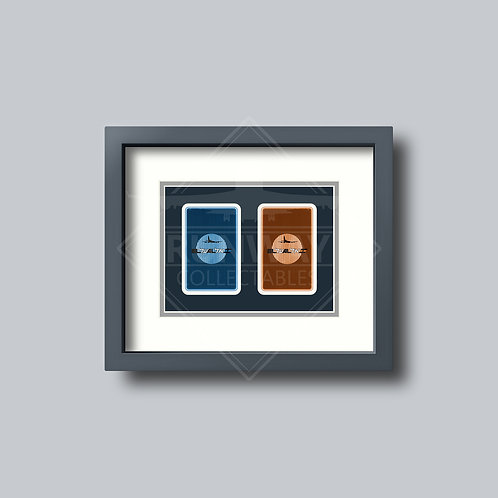 El Al Israel Airlines - Double Framed Playing Cards