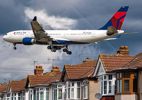 Delta - Airbus A330 - Print