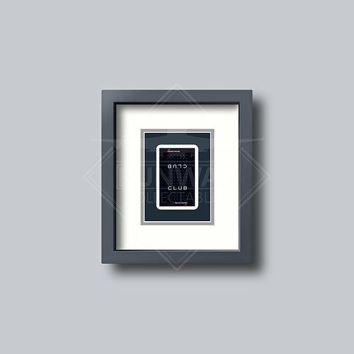 British Airways - Club - Single Framed Playing Card