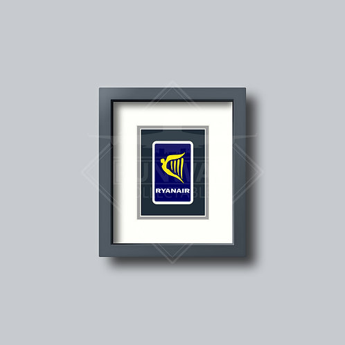 Ryanair - Single Framed Playing Card
