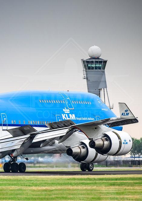 KLM - Boeing 747 - Print