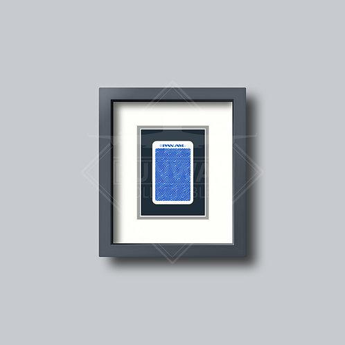 Pan American World Airways - Single Framed Playing Card