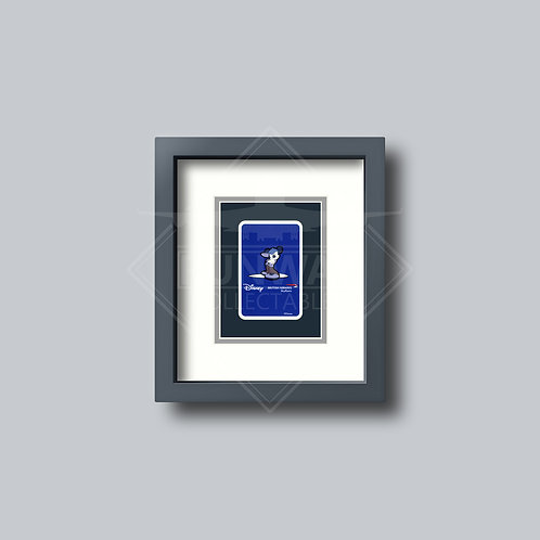 British Airways - Disney - Single Framed Playing Card