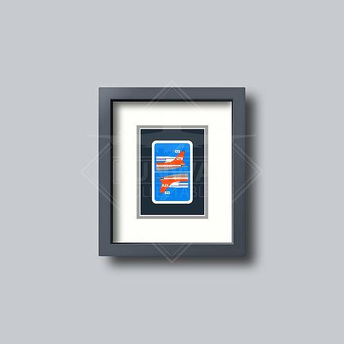 LTU International - Single Framed Playing Card