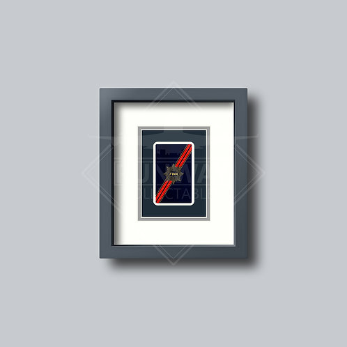 Trans World Airlines - Single Framed Playing Card