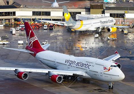 Virgin Atlantic - Boeing 747 - Print