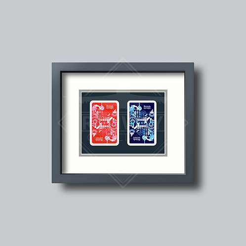 British Airways - Negus - Double Framed Playing Cards