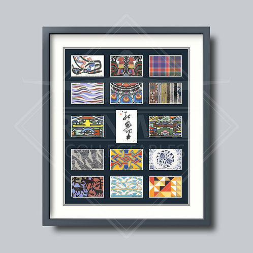 British Airways - Project Utopia Cards - Framed Rare Items