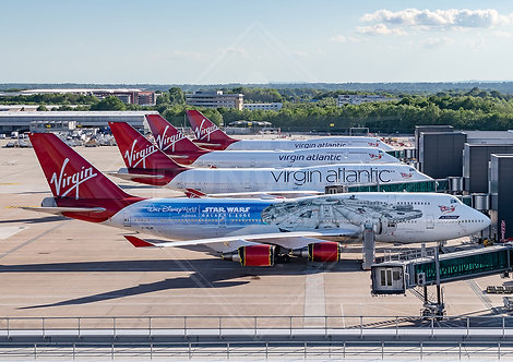 Virgin Atlantic - Boeing 747 - Print