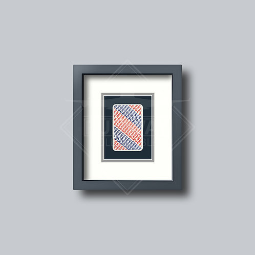 American Airlines - Single Framed Playing Card
