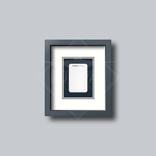 Delta Air Lines - Single Framed Playing Card
