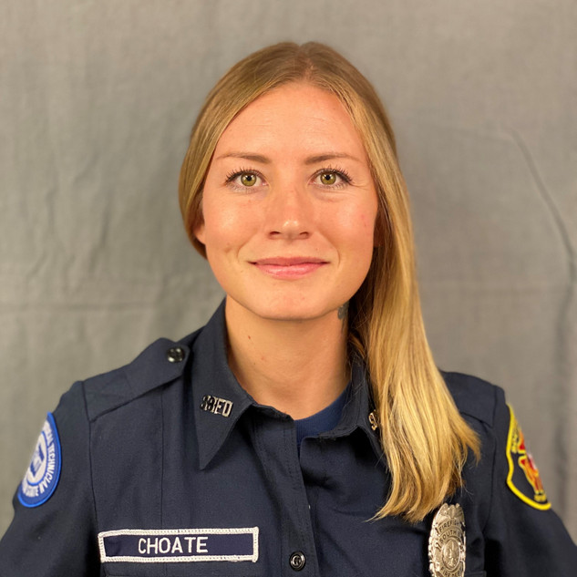 """Firefighter Allie Choate     Allie Choate joined the SBFD in 2019. She lives here in Olympia with her partner Dylan, their son Maxwell and dog Louie. She is originally from Reno, Nevada and moved to the Pacific Northwest in 2011.   Allie joined the fire service in 2013 at McLane Black Lake Fire Department where she earned a degree in Fire and Emergency services. She feels fortunate to be hired at South Bay this year. """"I love the beautiful community I serve and my Fire Department family.  In my spare time, I enjoy my family time, outdoor activities, road trips and game nights. My favorite place to be is at the ocean."""""""