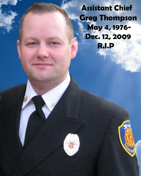 Assistant Chief Greg Thompson