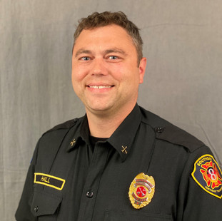 Battalion Chief Derek Hall    ... is responsible for Training and Safety.