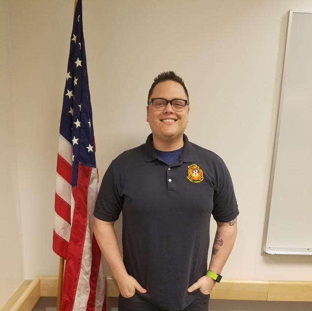 Cody Chapman, Volunteer Responder