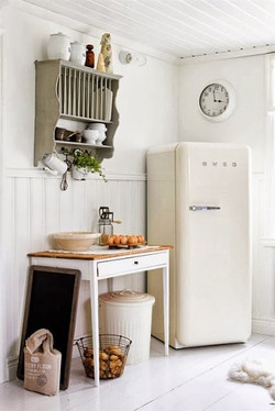 Retro SMEG fridge