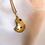 Thumbnail: Bent But Not Broken Gold Pendant