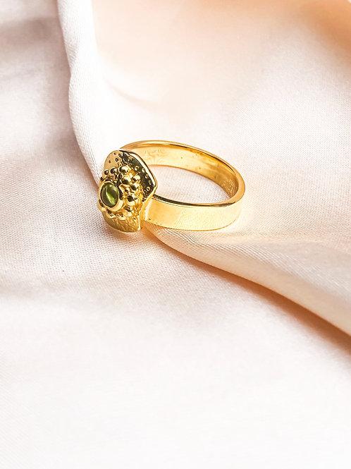 Bent But Not Broken Gold Ring