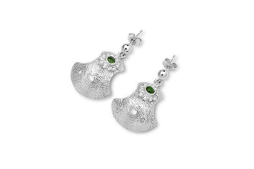 Bent But Not Broken with Gemstone Earrings