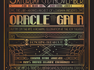 Third Annual Oracle Gala