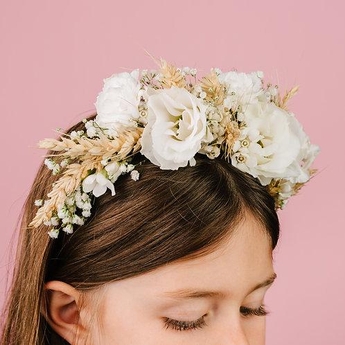 קשת פרחים לבנים