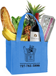 Re-usable shopping bags from WeDeliverGroceries.com
