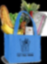 We Deliver Groceries reusable bag