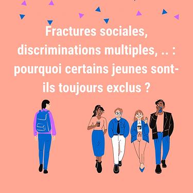 Fractures sociales%2C discriminations mu