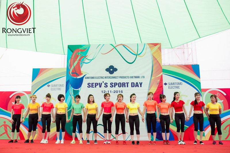 Ngày hội thể thao SEPV'S Sport day - Công ty sự kiện Rồng Việt